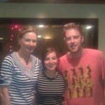 With Leah McKissock and Producer Adam Carver