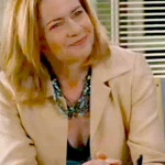 """As the boss in """"The Fortune Theory"""""""