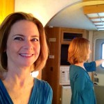 """A selfie in my trailer on """"The Newsroom"""""""