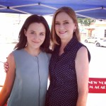 "With Veronika Kurshinskaya on the set of ""Among Us"""
